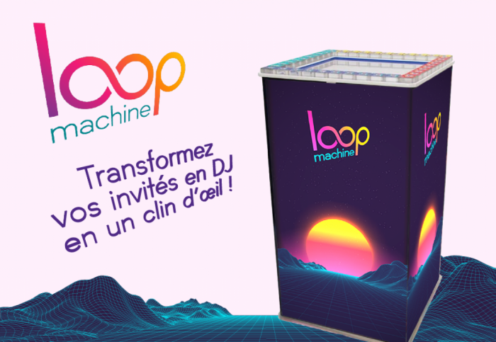 Loop Machine - La table musicale qui transforme vos invités en DJ en un clin d'œil