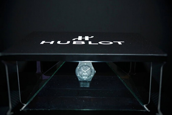 Hologramme - Montre Hublot @ Place Vendôme - Paris